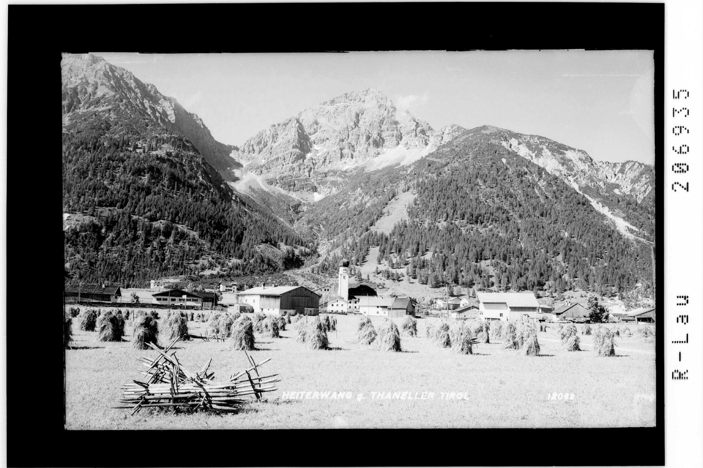 Heiterwang gegen Thaneller / Tirol von Risch-Lau