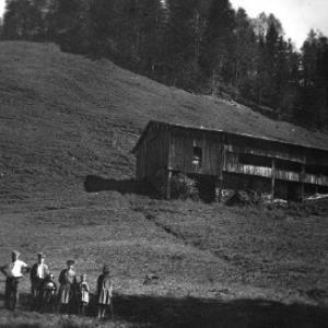 Die alte Alphütte Sack von Anonym