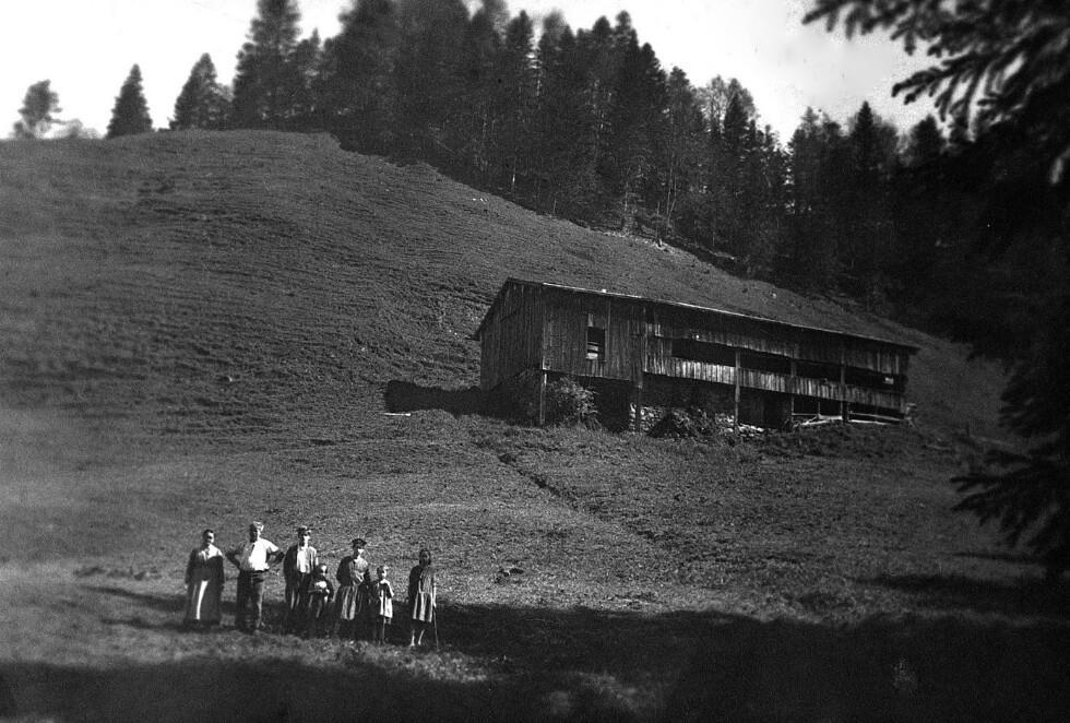 Die alte Alphütte Sack