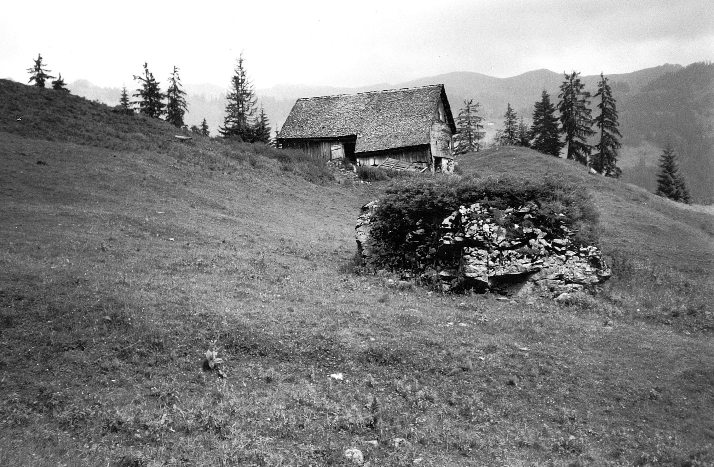 Alphütte Rüschersgunten von Anonym