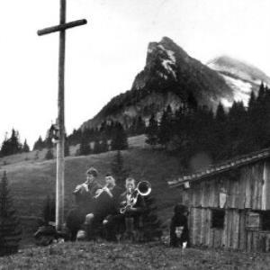 Alphütte Roßstelle, Mellau von Anonym