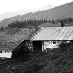 Alphütte Sack von Anonym