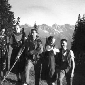 Alpe Oberer Sattel von Anonym