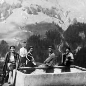 Alpe Felle, Schröcken von Anonym