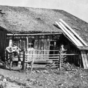 """Alphütte """"Röhrle"""" von Anonym"""
