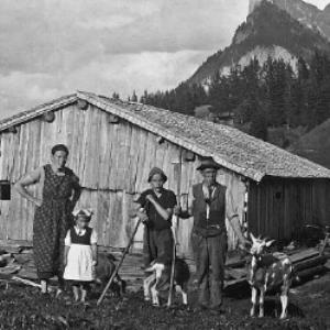 Alphütte Roßstelle von Anonym