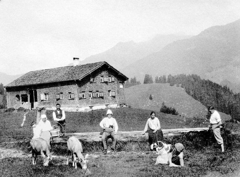 Vorsäß Schalzbach, Schoppernau