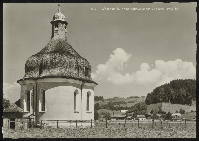 Lingenau St. Anna Kapelle gegen Pochern Vlbg. von Risch-Lau