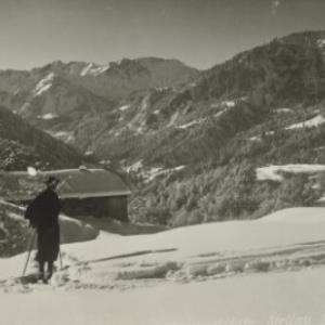 Wintersportplatz Mellau, Breg. Wald / Hiller von Hiller, ...