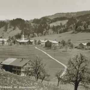 Riefensberg im Bregenzerwald / Aufnahme von Rhomberg von Rhomberg, ...