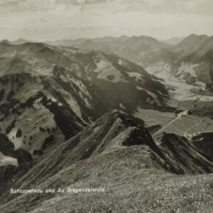 Schoppernau und Au Bregenzerwald / Aufnahme von Rhomberg von Rhomberg, ...