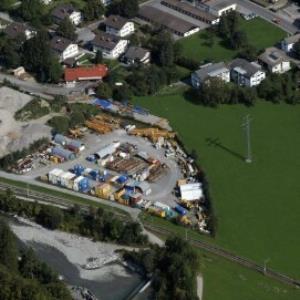 Schruns - Fa. Jägerbau, Lagerplatz von Amt der Vorarlberger Landesregierung Abteilung Raumplanung