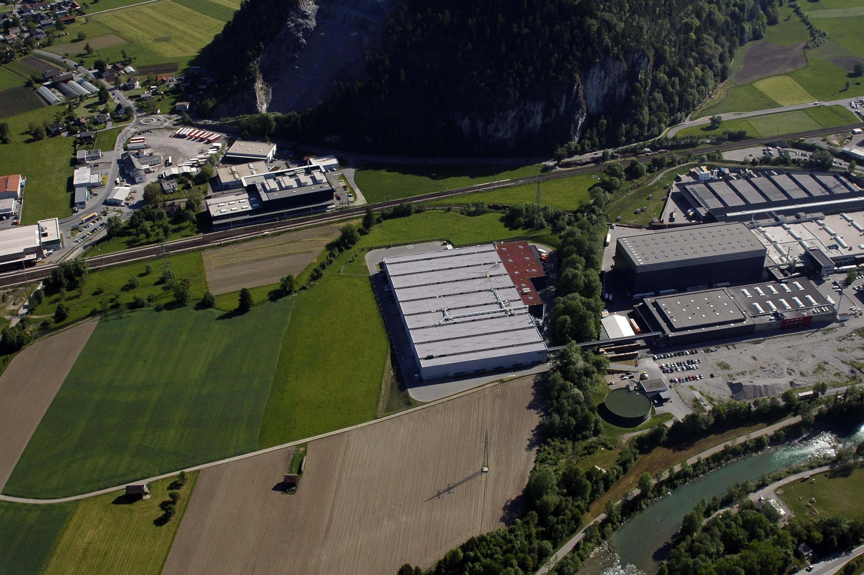 Ludesch - Unterfeld, Betriebsgebiet Hängender Stein, Rauch Fruchtsäfte von Amt der Vorarlberger Landesregierung Abteilung Raumplanung