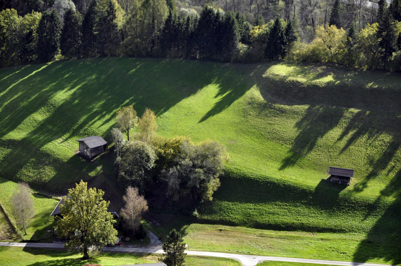 Satteins - Landwirtschaftsgebäude, unterhalb Berghof von Amt der Vorarlberger Landesregierung Abteilung Raumplanung