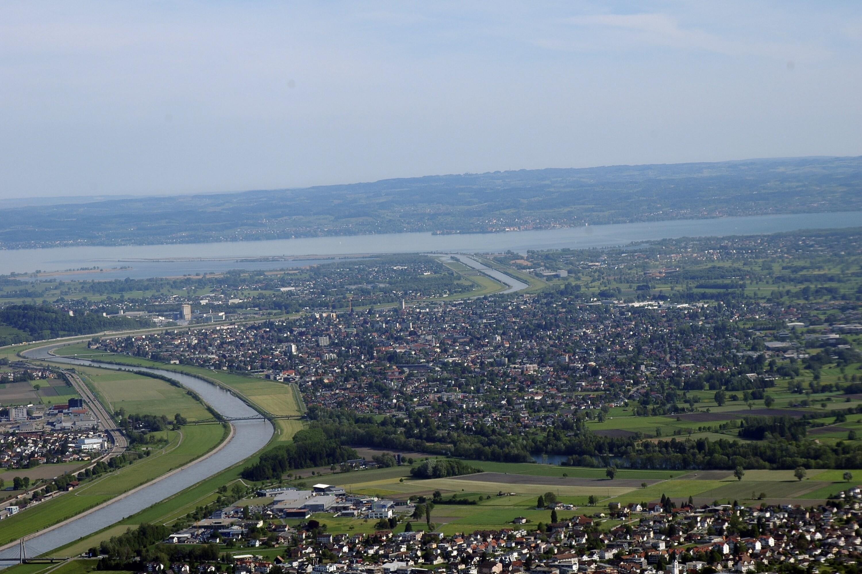 Lustenau - Rhein von Amt der Vorarlberger Landesregierung Abteilung Raumplanung