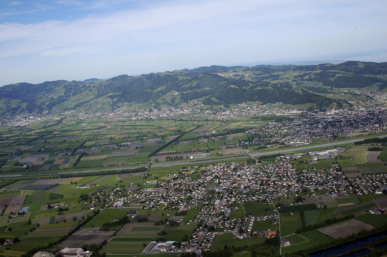 Schweiz - Diepoldsau; Widnau; St. Galler Rheintal von Amt der Vorarlberger Landesregierung Abteilung Raumplanung
