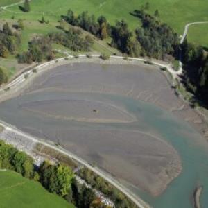 Andelsbuch, Kraftwerk, Stausee von Amt der Vorarlberger Landesregierung Abteilung Raumplanung