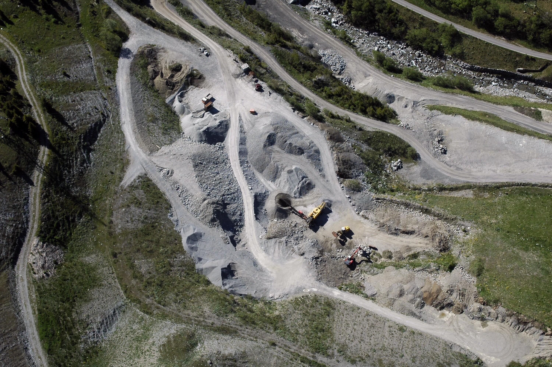 Klösterle - Langen am Arlberg, Kiesgrube von Amt der Vorarlberger Landesregierung Abteilung Raumplanung