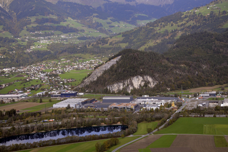 Ludesch - Hangender Stein, Fa. Rexam; Nüziders - Tschalengasee, Fa. Rauch Fruchsäfte von Amt der Vorarlberger Landesregierung Abteilung Raumplanung