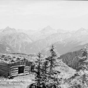 Garfreschen im Montafon, Vorarlberg, Blick zur Vallüla von Risch-Lau