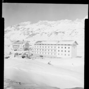 Hotel Bellevue, St.Christoph 1800 m, Arlberg / Austria von Risch-Lau