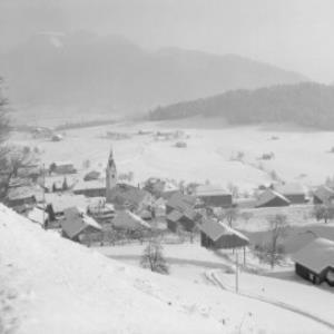 Schwarzenberg im Bregenzerwald mit Niedere von Risch-Lau