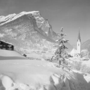 Au im Bregenzerwald / Vorarlberg mit Kanisfluh von Risch-Lau