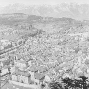 Feldkirch gegen Alpsteingruppe von Risch-Lau