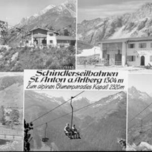 Schindlerbahnen, St.Anton am Arlberg 1304 m, zum alpinen Blumenparadies Kapall 2320 m von Risch-Lau