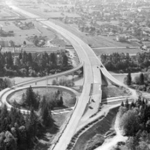 Autobahn vom Gebhardsberg / Helmut Klapper von Klapper, Helmut