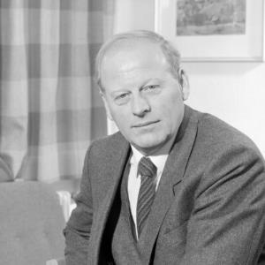 Landesrat Blank, Porträt / Helmut Klapper von Klapper, Helmut