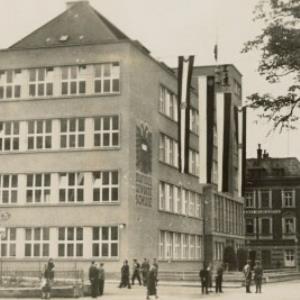 Bregenz Bundesgewerbeschule / Aufnahme von J. Fritz jr. von Fritz, Josef
