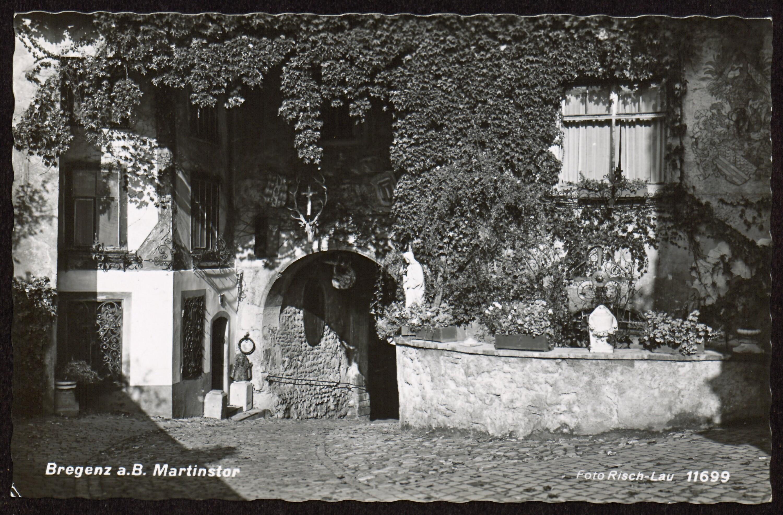Bregenz a. B. Martinstor / Risch-Lau von Risch-Lau, ...