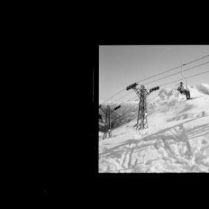 Warth am Arlberg 1500 m, Schigebiet Steffisalpe 1950 m von Risch-Lau