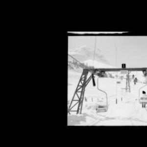 Warth am Arlberg 1500 m Sessellift Steffis Alpe 1950 m von Risch-Lau