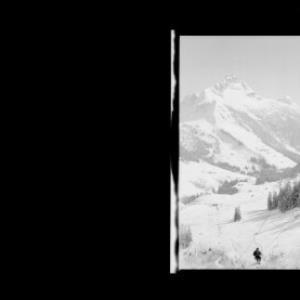 Warth am Arlberg 1500 m, Sessellift Steffisalpe 1950 m von Risch-Lau