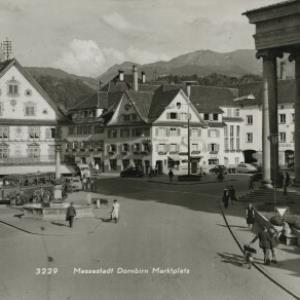 Messestadt Dornbirn Marktplatz / Aufnahme von Rhomberg von Rhomberg, ...
