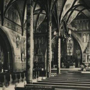 Stadt-Pfarrkirche von Müller, R.