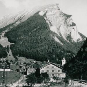 Au, mit Kanisfluh, Bregenzerwald von Heim, ...