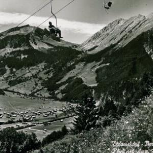 Didamskopf - Bergbahn / Aufnahme Branz von Branz, ...