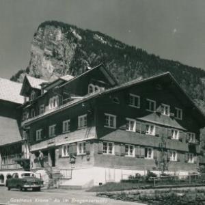 """""""Gasthaus Krone"""" Au im Bregenzerwald / Aufnahme Rhomberg von Rhomberg, ..."""