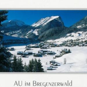 Au im Bregenzerwald von