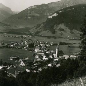 Bezau m. Hangspitze / Hiller von Hiller, ...