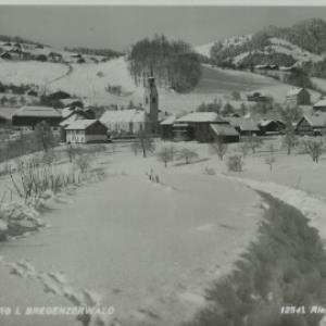 Schwarzenberg i. Bregenzerwald / Risch-Lau von Risch-Lau, ...