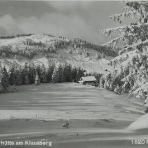Schwarzenberg Lustenauerhütte am Klausberg / Nipp von Nipp, ...
