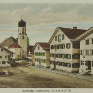 Sulzberg, Vorarlberg (1015 m ü. d. M.) / Aufnahme von Finy Peter von Peter, Finy
