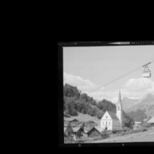 Silbertal mit Kristberg Bahn im Montafon / Vorarlberg von Risch-Lau