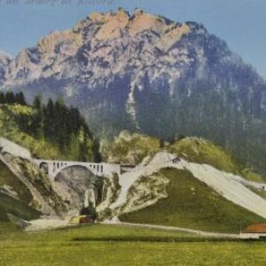 Wäldlitobel-Viadukt am Arlberg bei Klösterle von Purger u. Co.