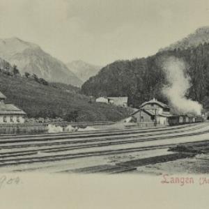 Klösterle Langen (Arlbergbahn) von Stengel u. Co.