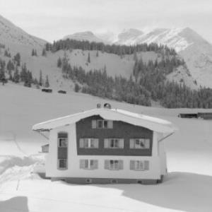 Aus Lech am Arlberg / Blick zum Spuller Schafberg von Risch-Lau